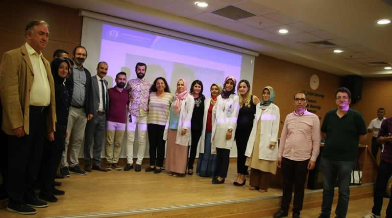 Urfa Eğitim Hastanesi'nin  çalışanlarıyla beraberiz